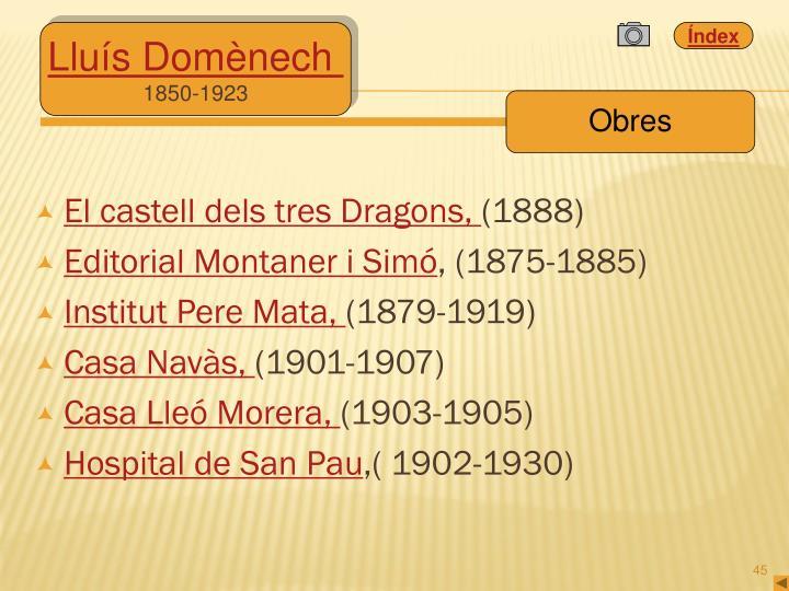 El castell dels tres Dragons,