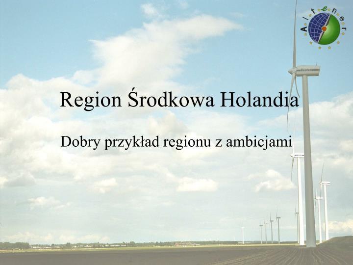 Region Środkowa Holandia