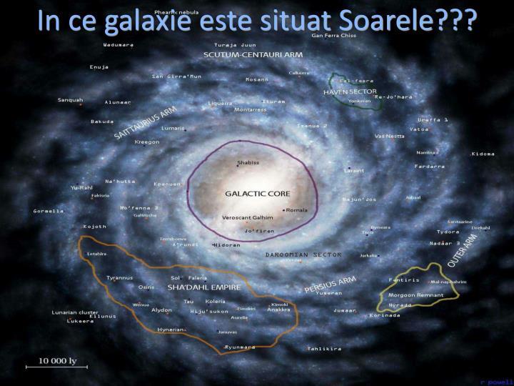 In ce galaxie este situat Soarele???
