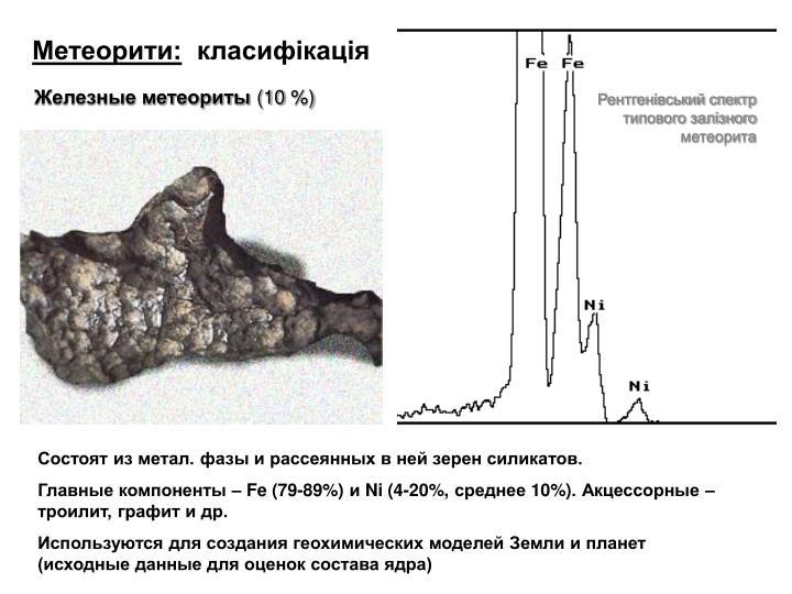 Метеорити: