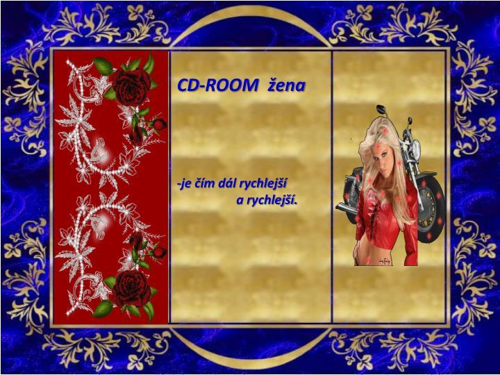CD-ROOM  žena