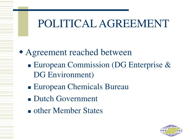 POLITICAL AGREEMENT