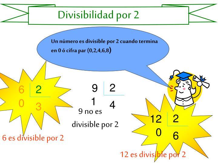 Divisibilidad por 2