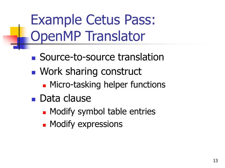 Example Cetus Pass:
