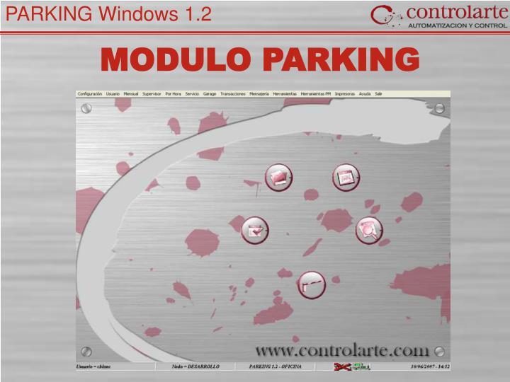 MODULO PARKING