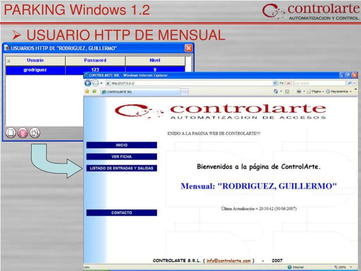 USUARIO HTTP DE MENSUAL