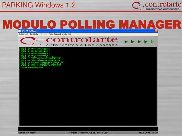 MODULO POLLING MANAGER