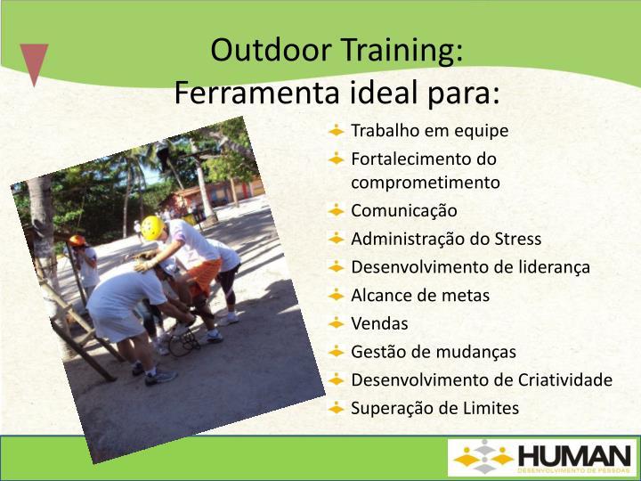 Outdoor Training: