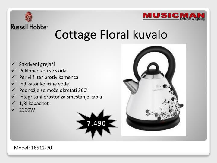 Cottage Floral kuvalo