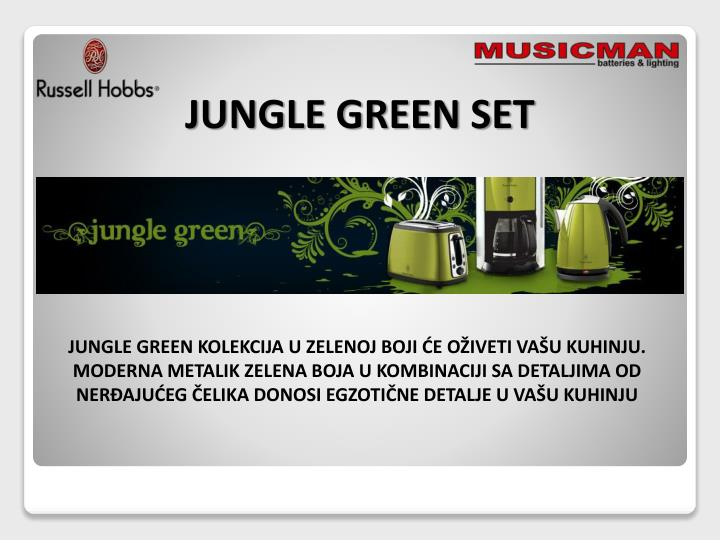 JUNGLE GREEN SET