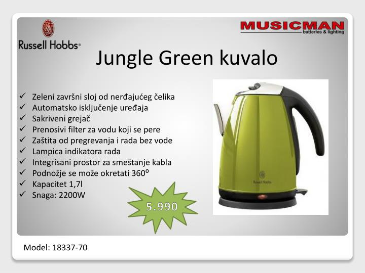 Jungle Green kuvalo