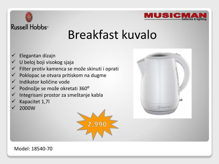 Breakfast kuvalo