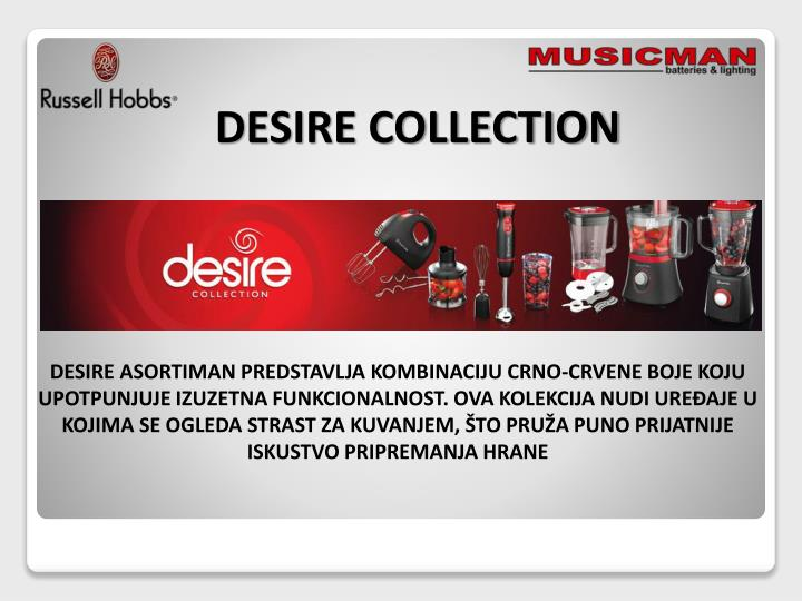 DESIRE COLLECTION