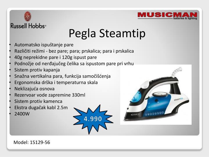 Pegla Steamtip