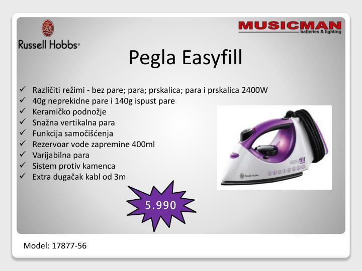 Pegla Easyfill