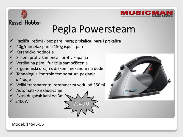 Pegla Powersteam
