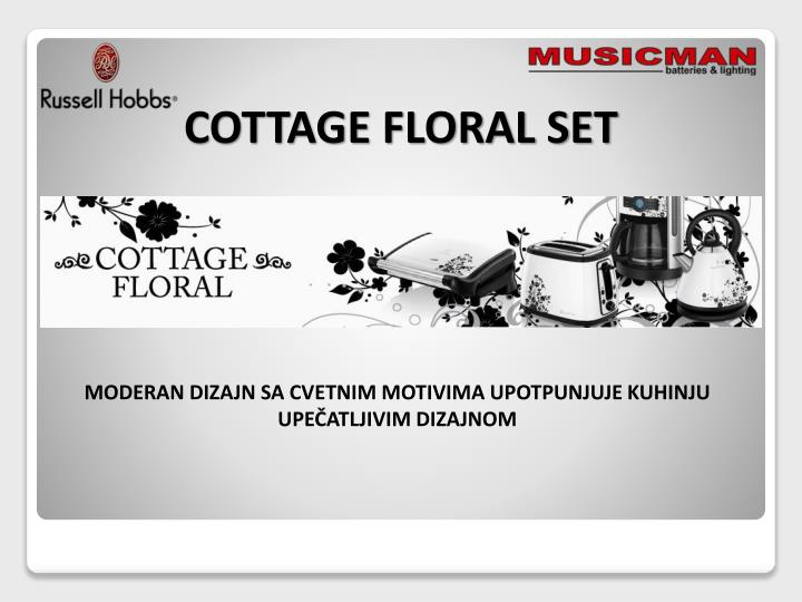 COTTAGE FLORAL SET