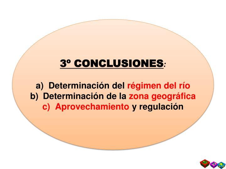 3º CONCLUSIONES
