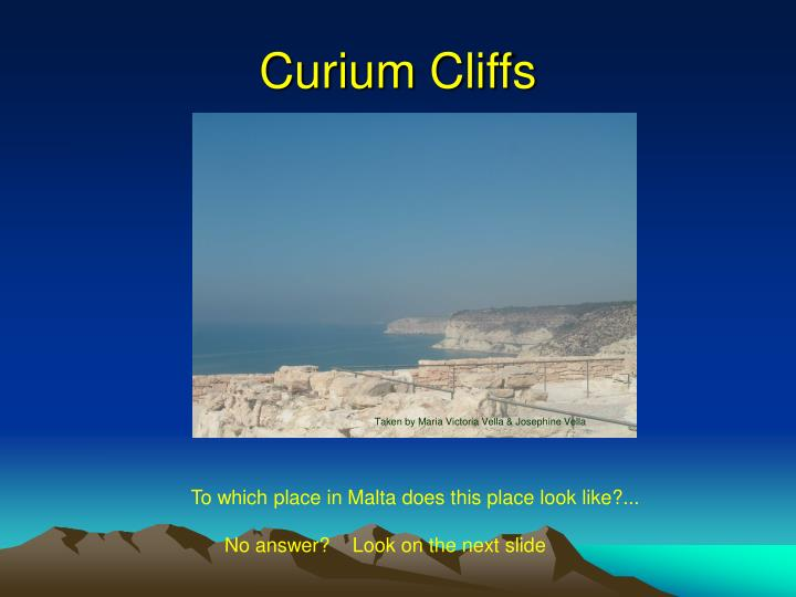 Curium Cliffs