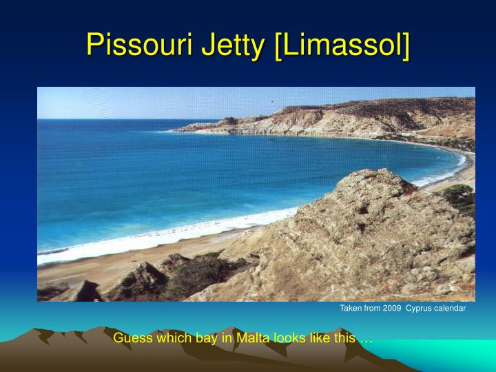 Pissouri Jetty [Limassol]