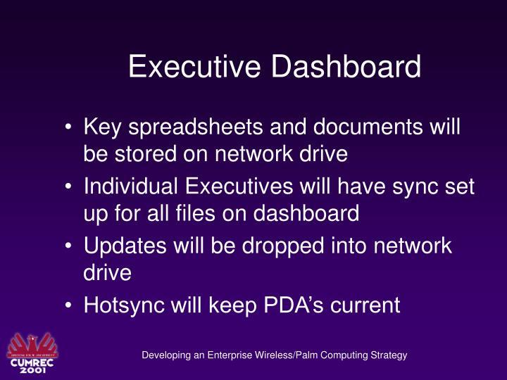 Executive Dashboard