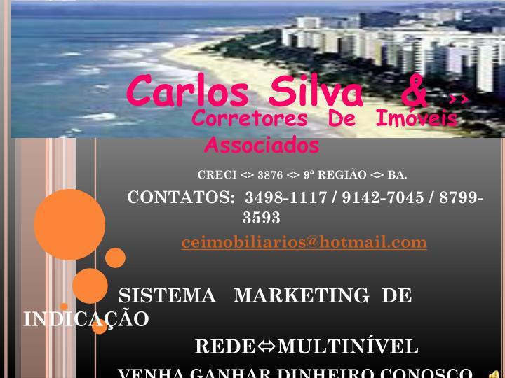 Carlos Silva  &