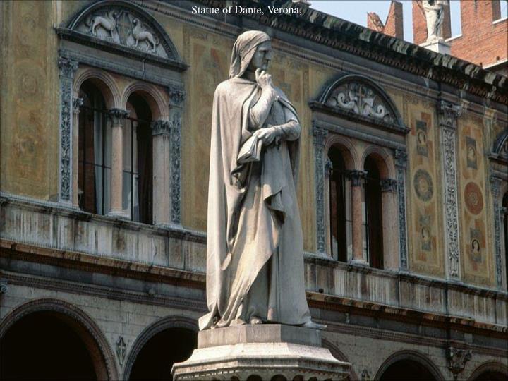Statue of Dante, Verona,
