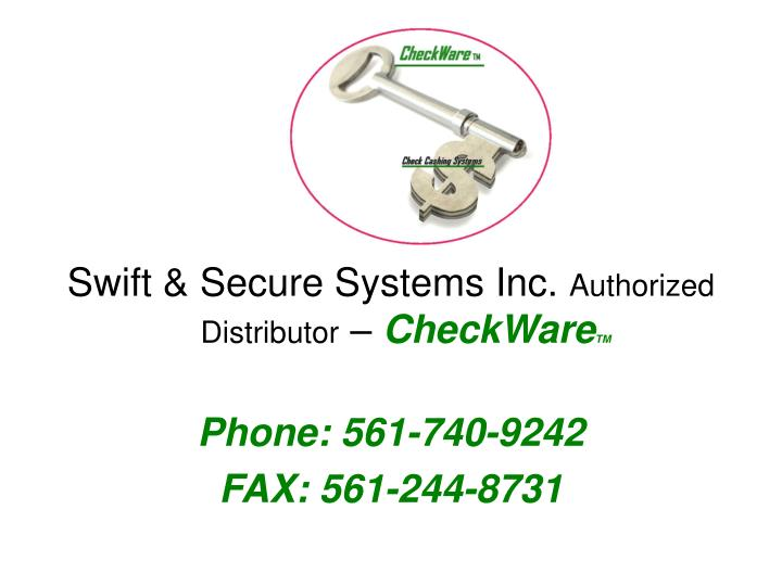 Swift & Secure Systems Inc.