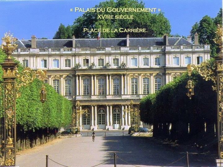 «Palais du Gouvernement»