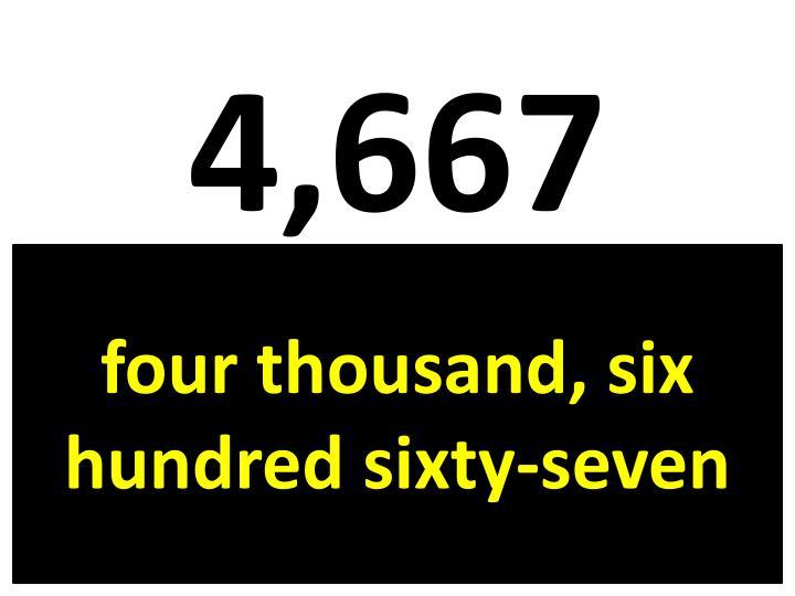 4,667