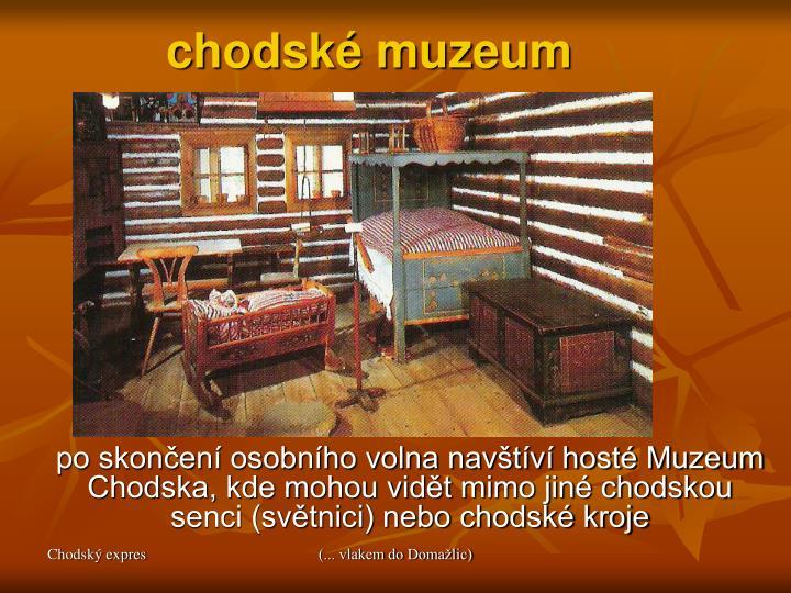 chodské muzeum