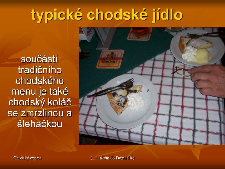 typické chodské jídlo