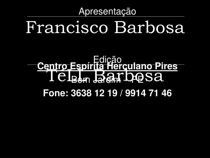 Francisco Barbosa