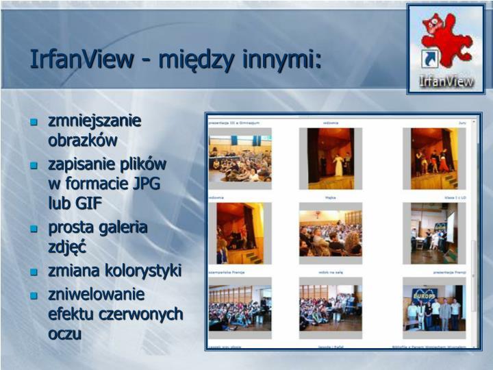 IrfanView - między innymi: