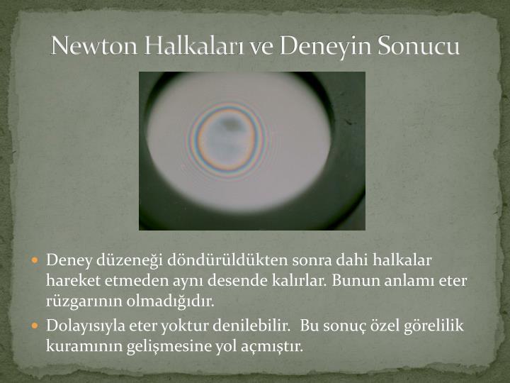 Newton Halkalar
