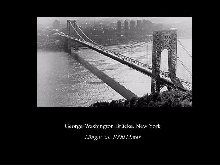 George-Washington Brücke, New York