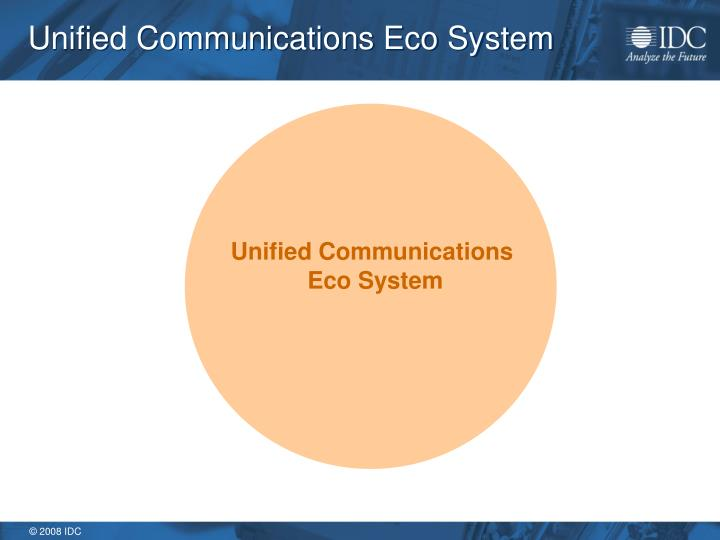 Unified Communications Eco System