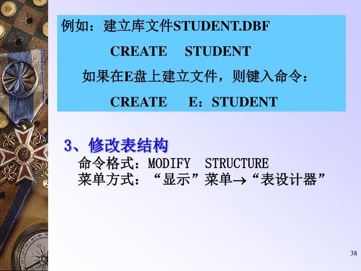 例如:建立库文件