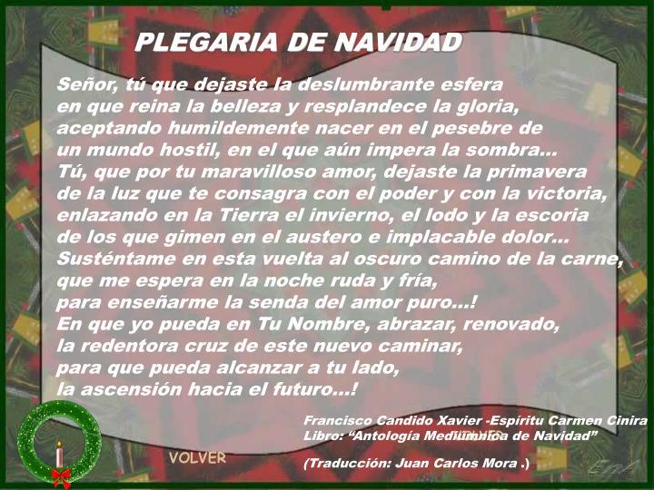 PLEGARIA DE NAVIDAD