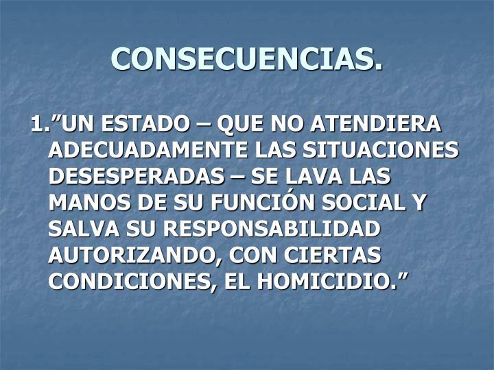 CONSECUENCIAS.