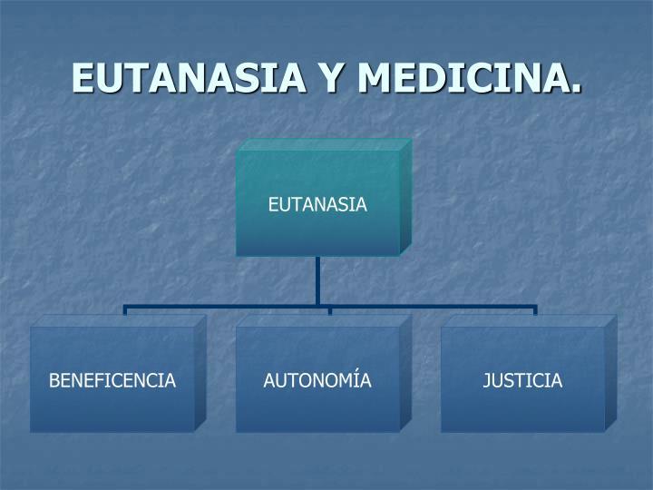 EUTANASIA Y MEDICINA.