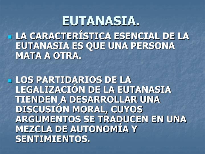 EUTANASIA.