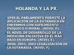 holanda y la pr1