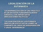 legalizaci n de la eutanasia