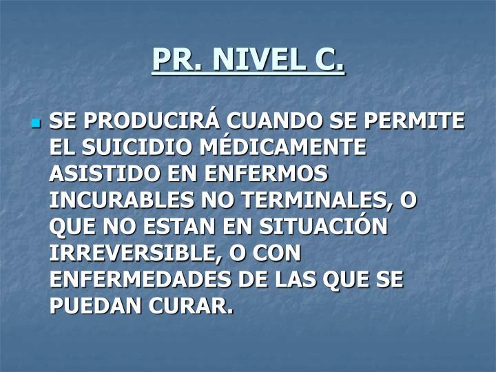PR. NIVEL C.