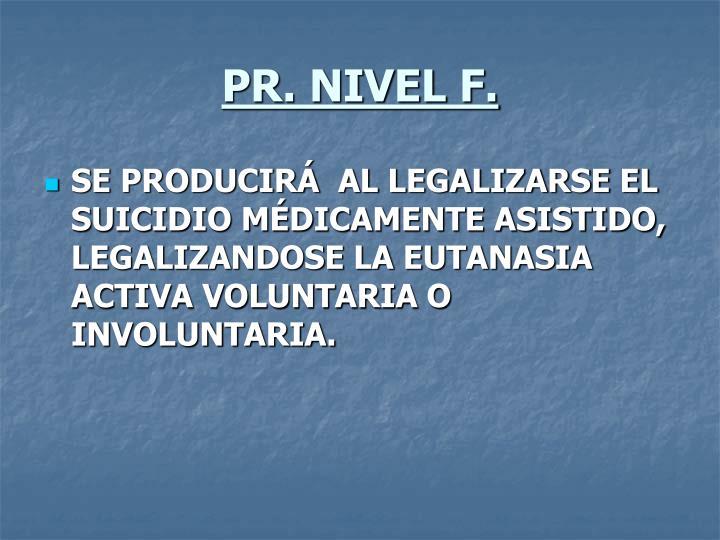 PR. NIVEL F.