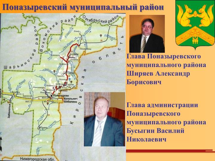 Поназыревский муниципальный район