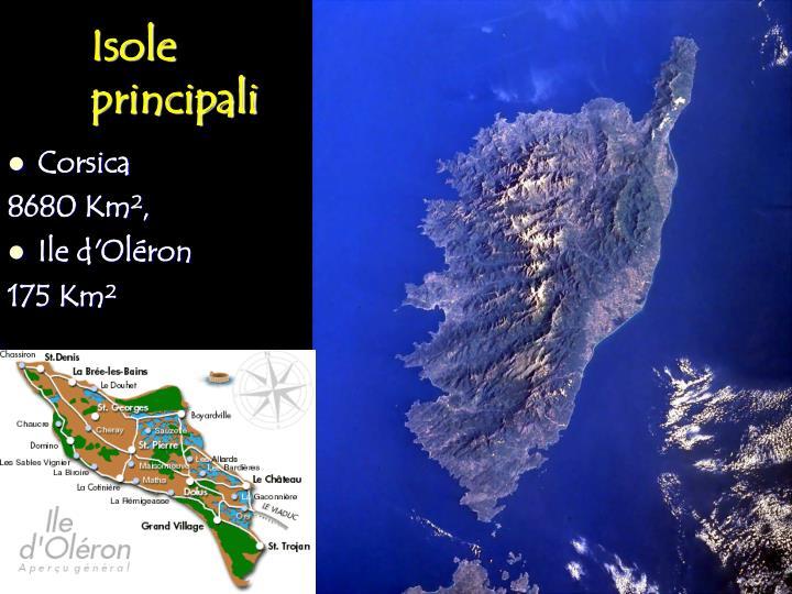 Isole principali