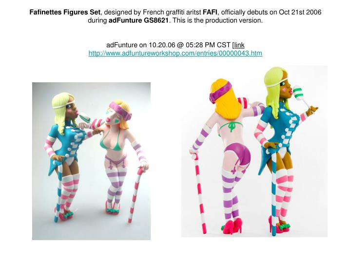 Fafinettes Figures Set
