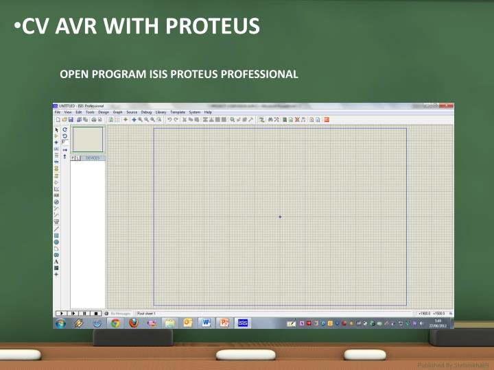 CV AVR WITH PROTEUS